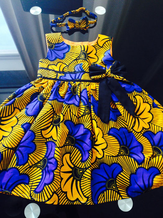 Ankara Baby Skirt Designs (6)