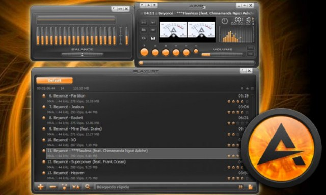 Free Download AIMP 4.50.2042 MP3 Player