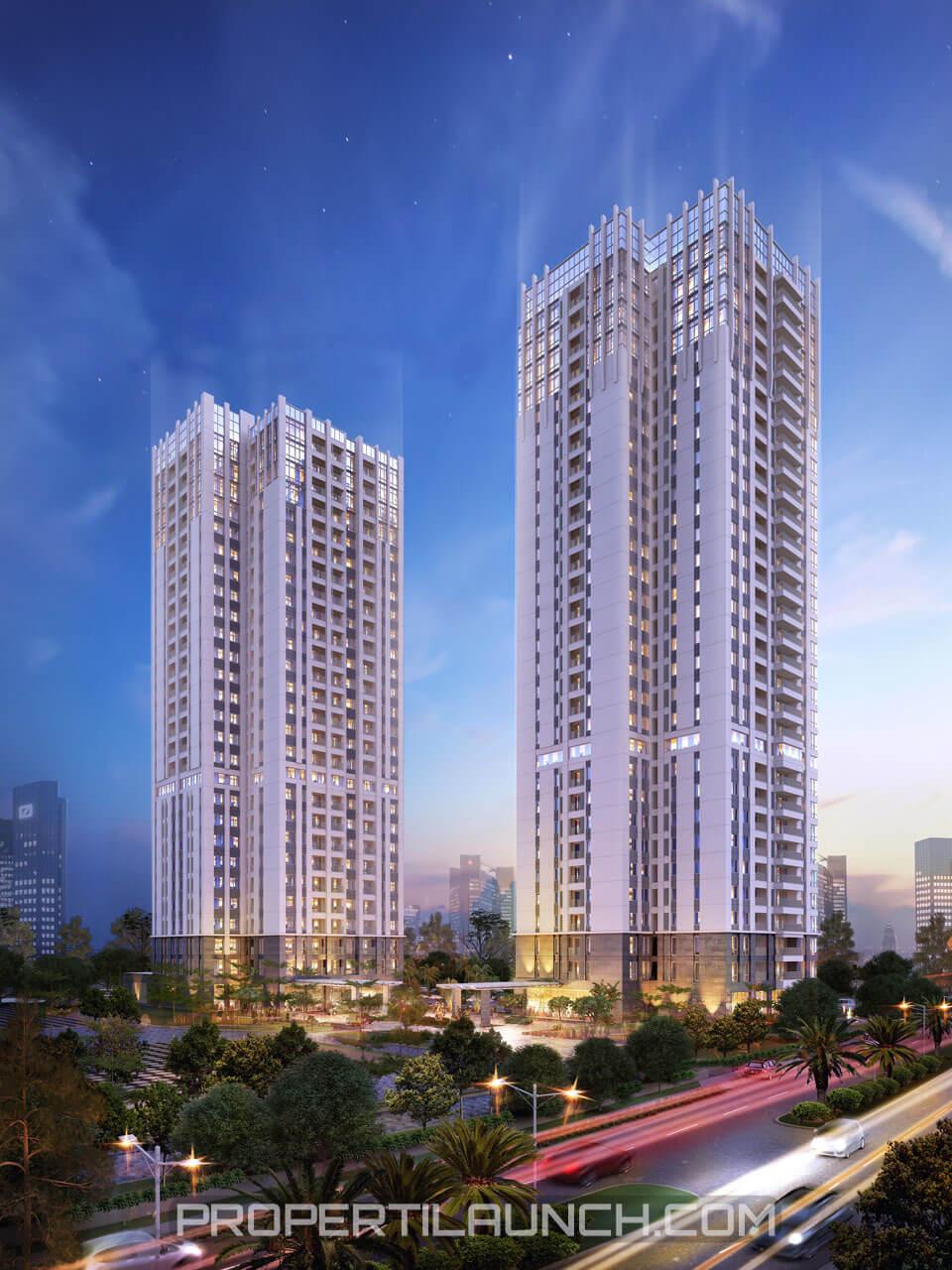 Apartment Southgate di Tanjung Barat, Jakarta Selatan