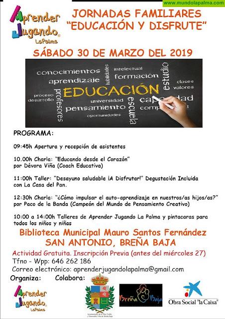 """SAN ANTONIO: Jornadas Familiares """"Educación y Disfrute"""""""