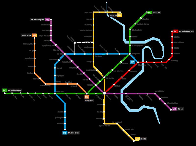 Metro Saigon Lines
