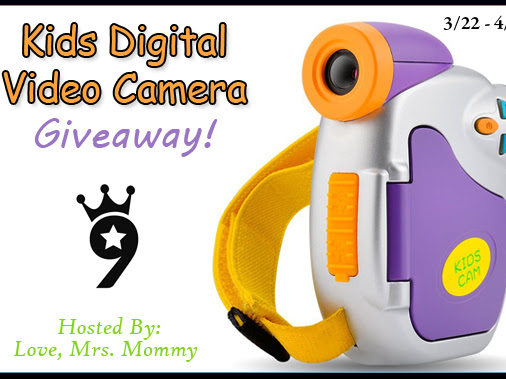 Kids Powpro Digital Video Camera Giveaway!