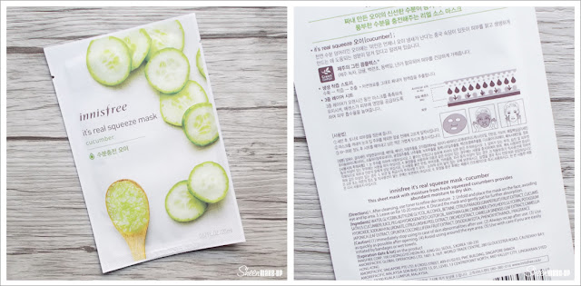 It's real squeeze mask cucumber