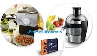 Logo Vinci gratis Card da 50 euro, Centrifuga e Pasta Maker Philips