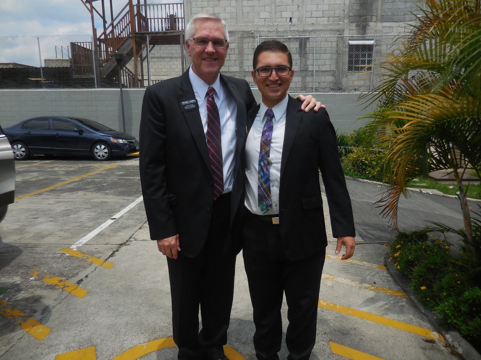 Mormon elders get pegged