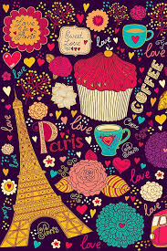 coffee cupcakes wallpaper