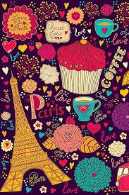 coffee cupcakes wallpaper