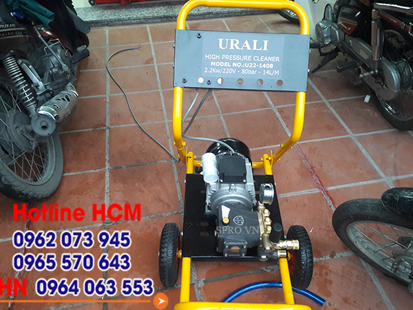 Máy rửa xe áp lực cao Italy AR U22-1408 nhập khẩu ý