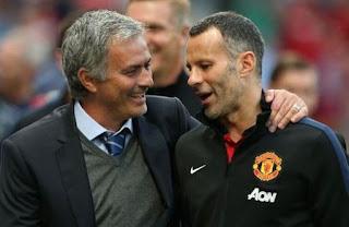 Jose Mourinho dan Ryan Giggs