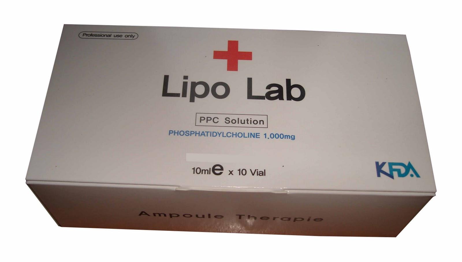 Vivie Beauty Shack: Lipo-Lab Phosphatidyl Choline Slimming Injection