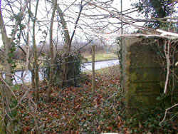 Photograph of a tank trap just off Swanley Bar Lane Image courtesy of Jim Apps