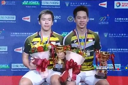 Marcus/Kevin Kembali Jadi Juara Hongkong Open