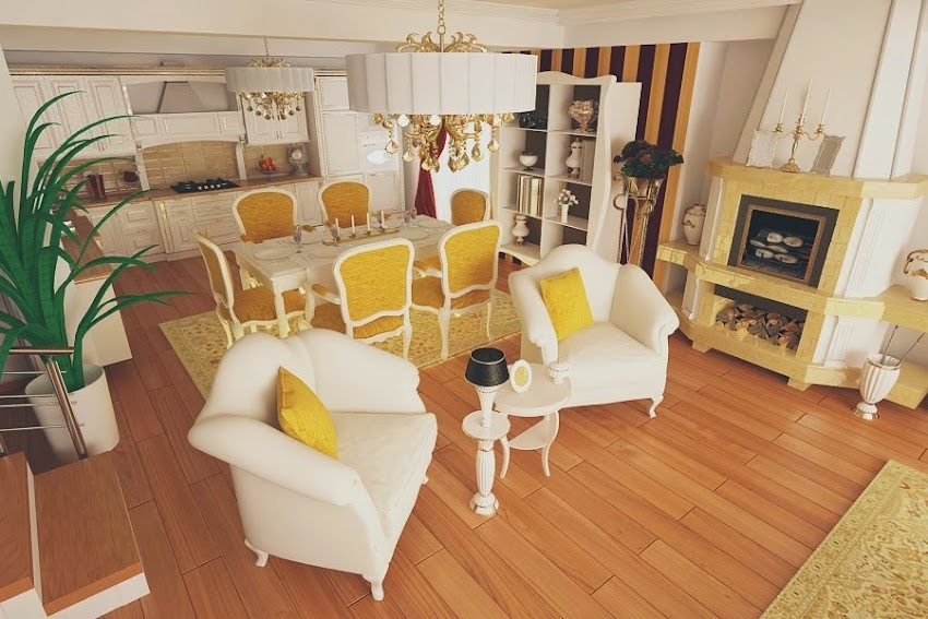 Design interioare case stil clasic modern - Amenajari interioare Constanta