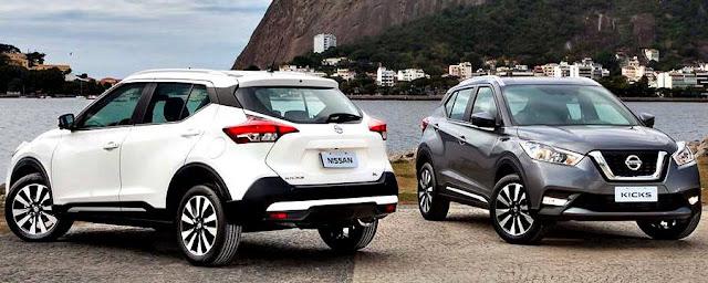Nissan Kicks 2017 blanco gris