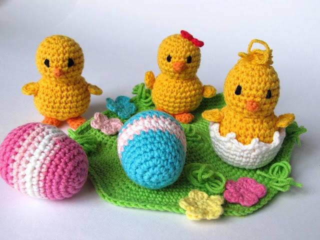 Peluches para niños a Crochet