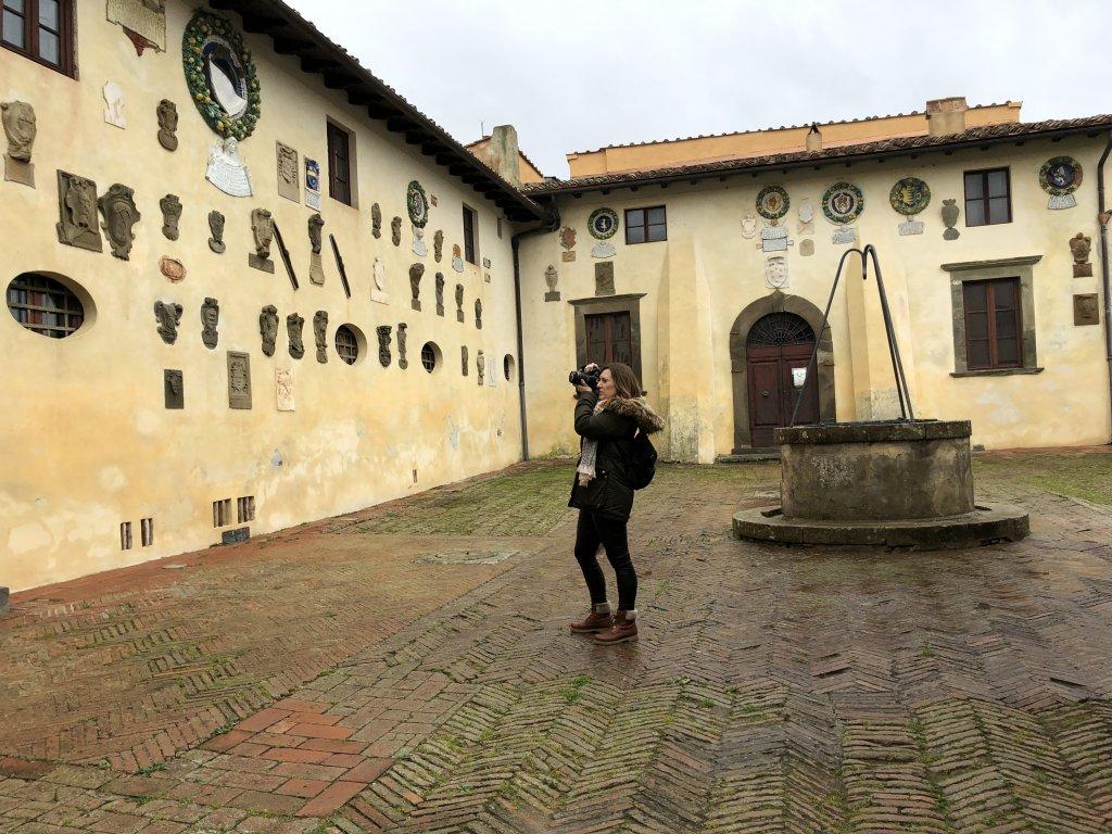 Castillo de Lari, Valdera, Toscana