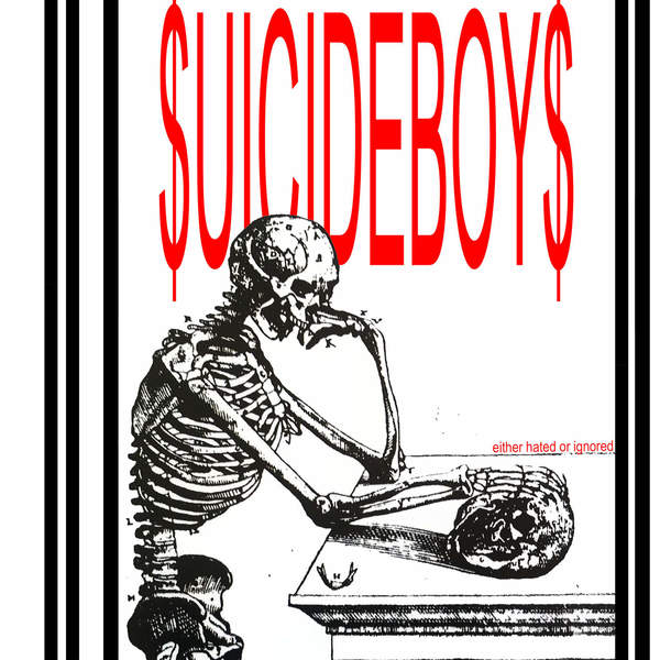 $uicideBoy$ - Either Hated or Ignored - Single Cover