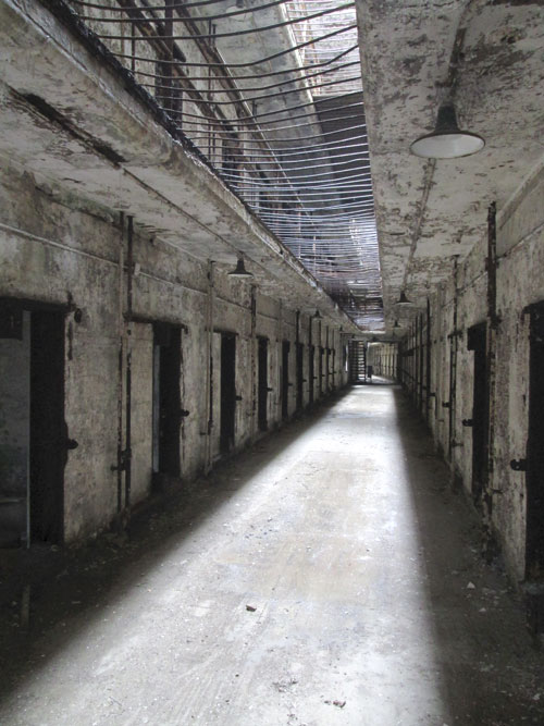 Eastern State Penitentiary: haunted wing 12