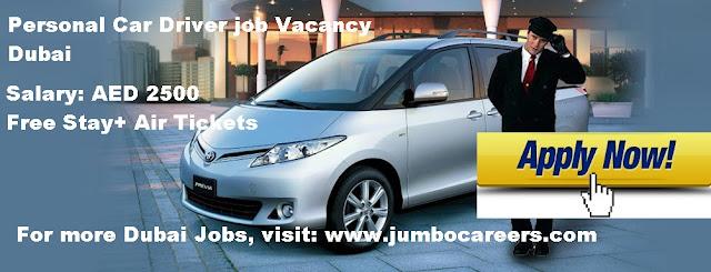 personal driver job in uae, free visa and flight ticket driver jobs in dubai