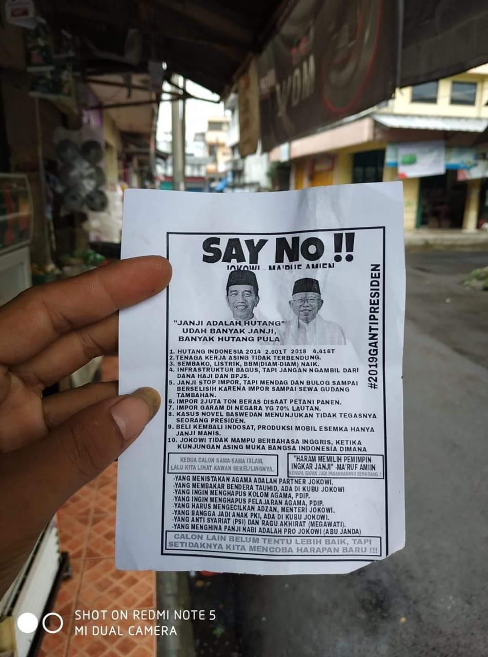 Tim Prabowo: 'Say No Jokowi' Pengalihan Isu 'Indonesia Barokah'
