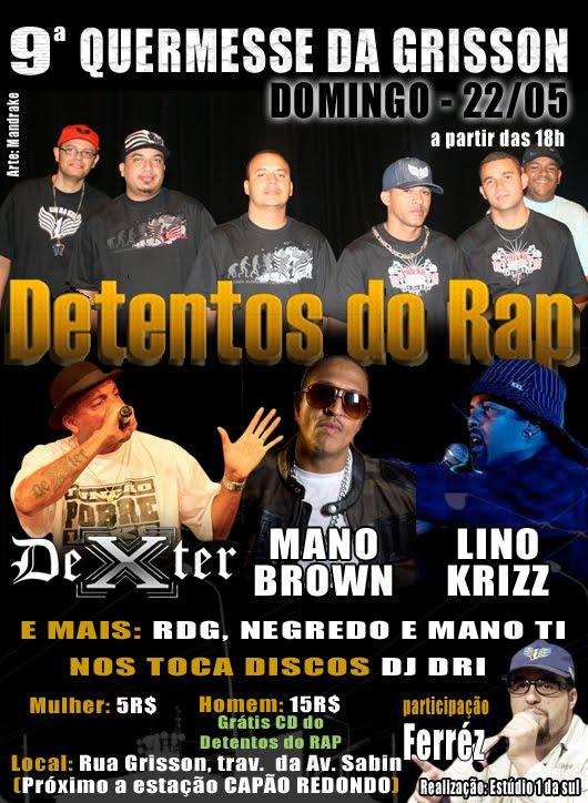 cd detentos do rap 2011