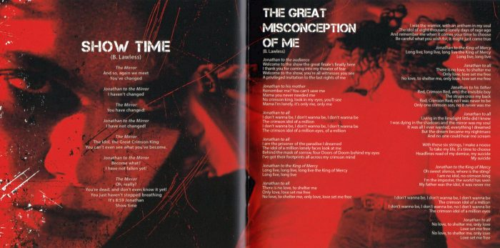 W.A.S.P. - Re-Idolized [The Soundtrack To The Crimson Idol] (2018) 0dayrox Exclusive - booklet