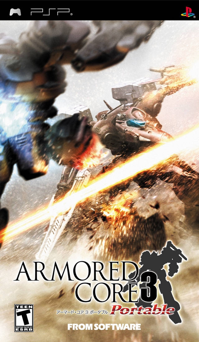 Armored Core 3 Portable - PSP - ISO Download