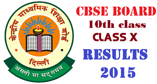 CBSE 10th Class X Results 2015