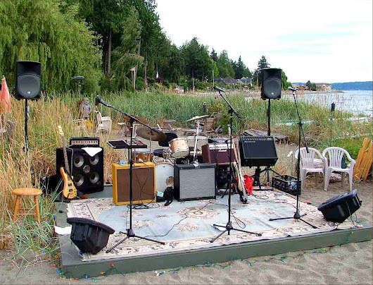 A Summer Gig on the Beach