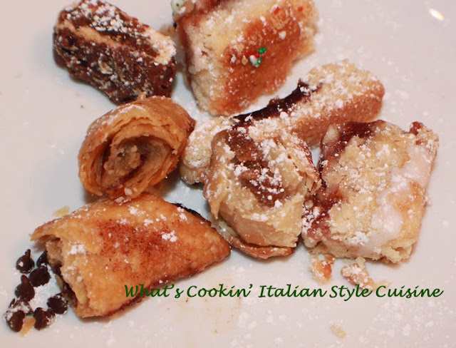 this is an italian cookie dough to make all kinds of wedding tray cookies for an Italian wedding. It one dough and versatile