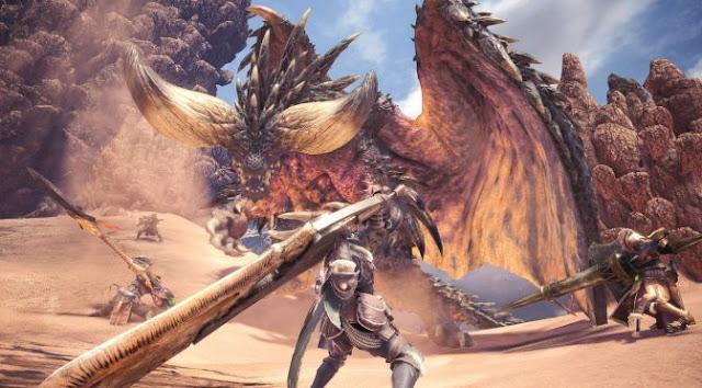 سيضيف تحديث Monster Hunter World الجديد الذي تم اصداره في 22 جانفي  دعمًا لـ ultrawide (21: 9)