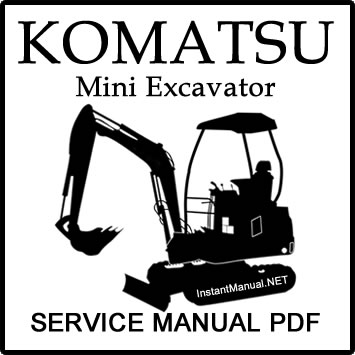 Construction Service Manual PDF: Komatsu PC60-5 PC60L-5