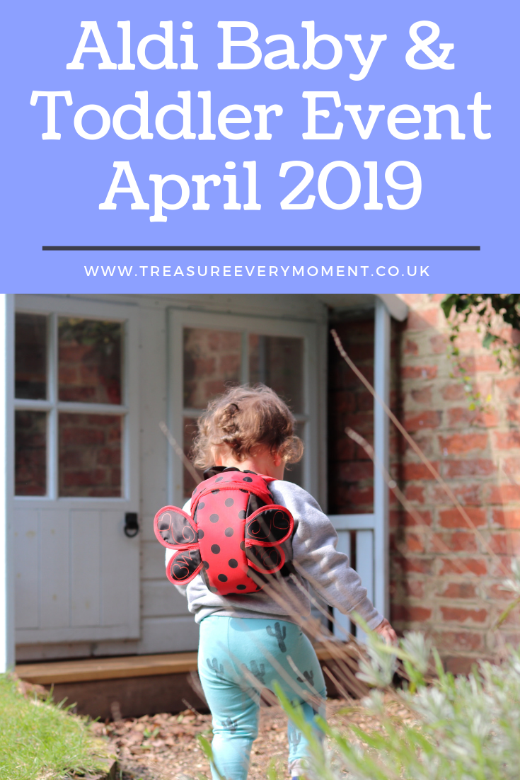 SHOPPING: Aldi Baby and Toddler Event April 2019