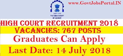 Gujarat high court recruitment