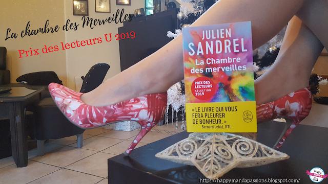 La chambre des merveilles Julien Sandrel avis chronique prix des lecteurs U bookaddict