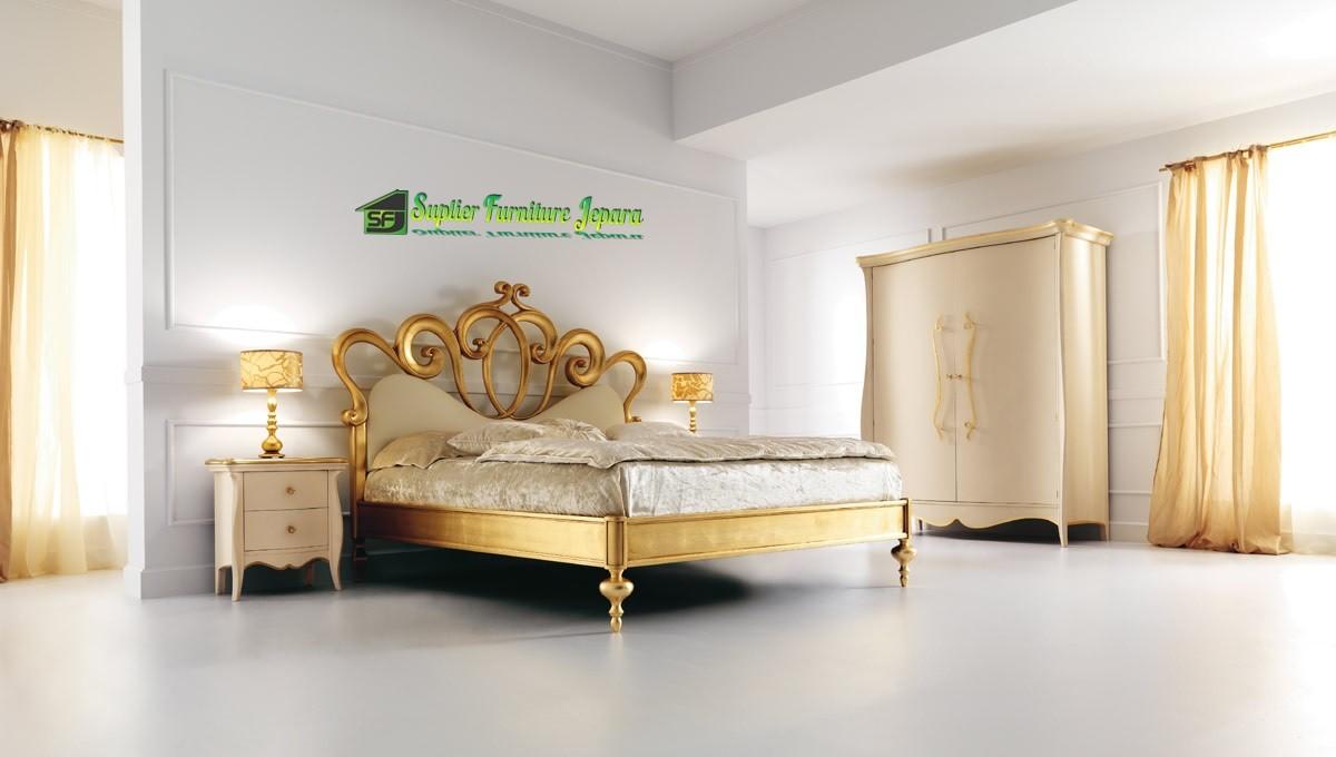 model tempat tidur ukir modern 2