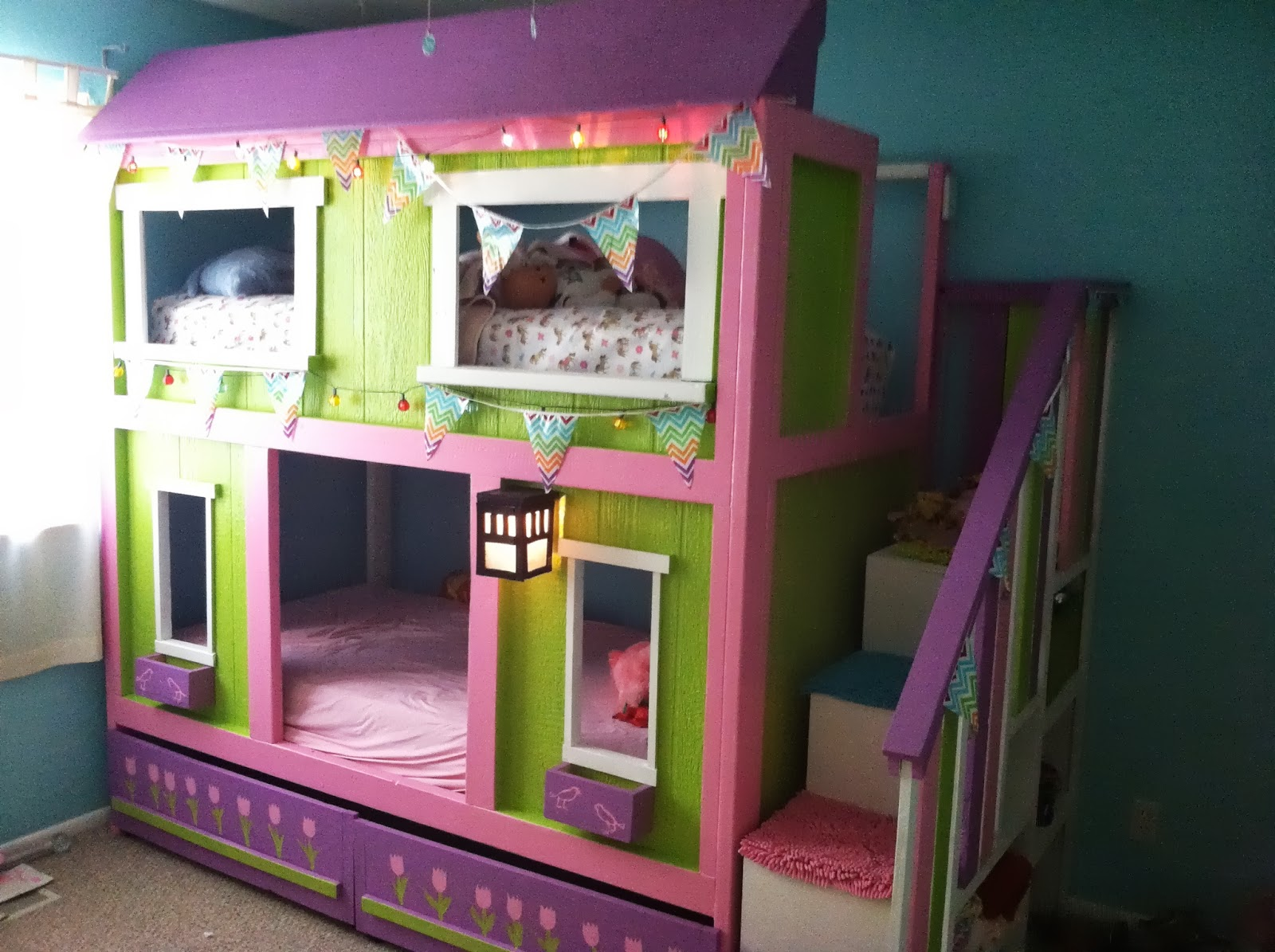 Share The Pants: The Most Amazing Bunk Beds I Have Ever Built