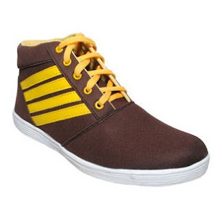 Sydney Shoes Brown Casual Shoes at just Rs.192 by Paytm
