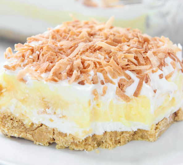 COCONUT CREAM DREAMBOAT DESSERT #dessert #cake