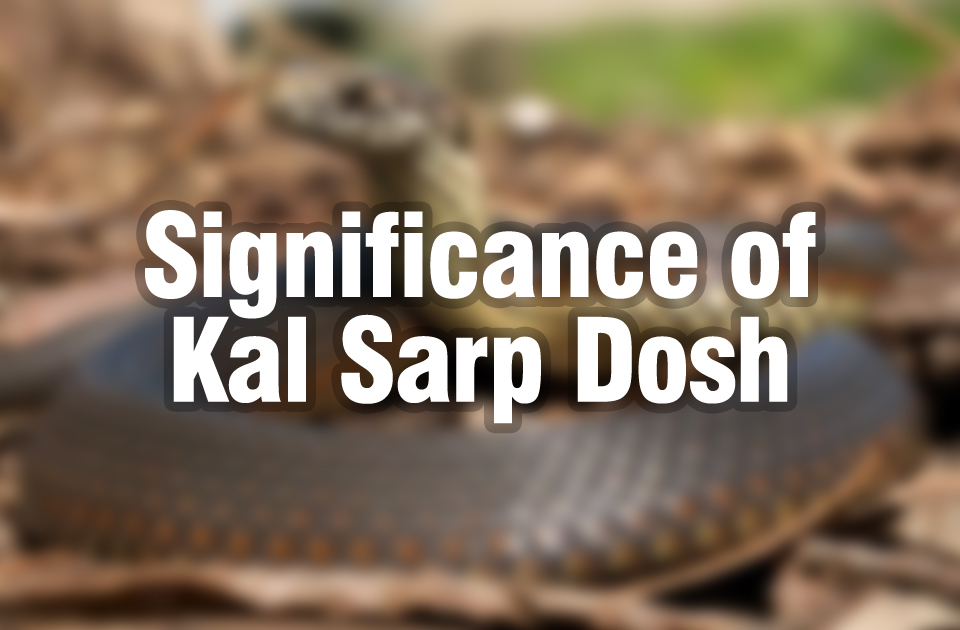 Significance of Kal Sarp Dosh