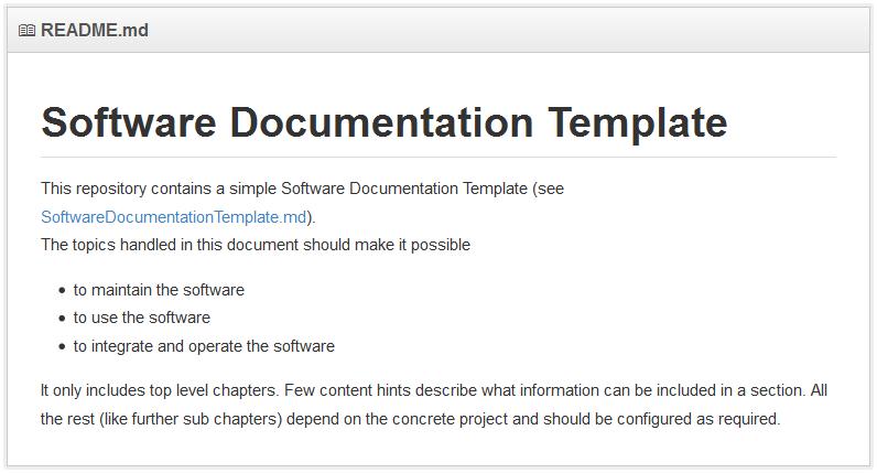 Franz van Betteraey: Software deserves documentation