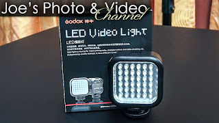 Godox LED36 Video Light - Review & Demonstration