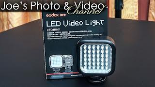 Godox LED36 Video Light - Review & Demonstration