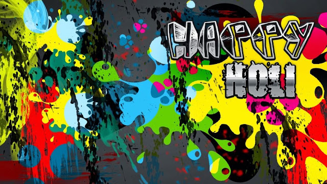 happy holi images 3d