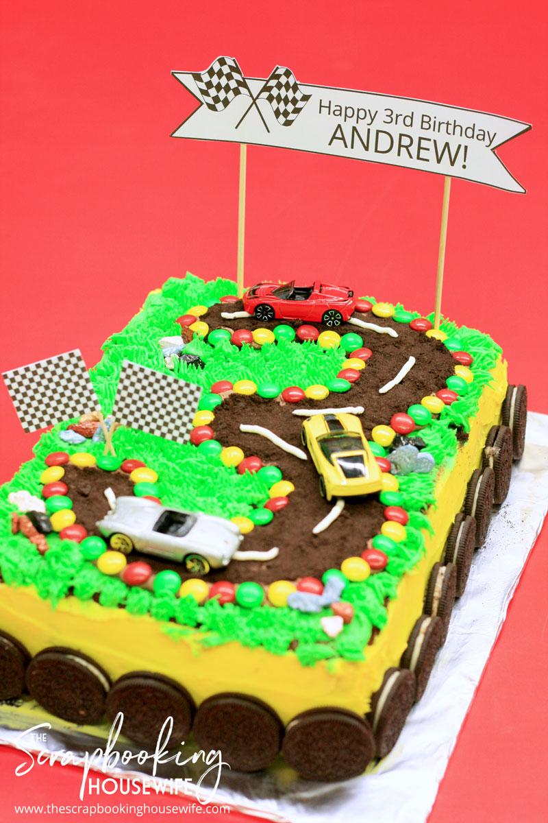 Ellabella Designs Racecar 3rd Birthday Party Amp Free Party