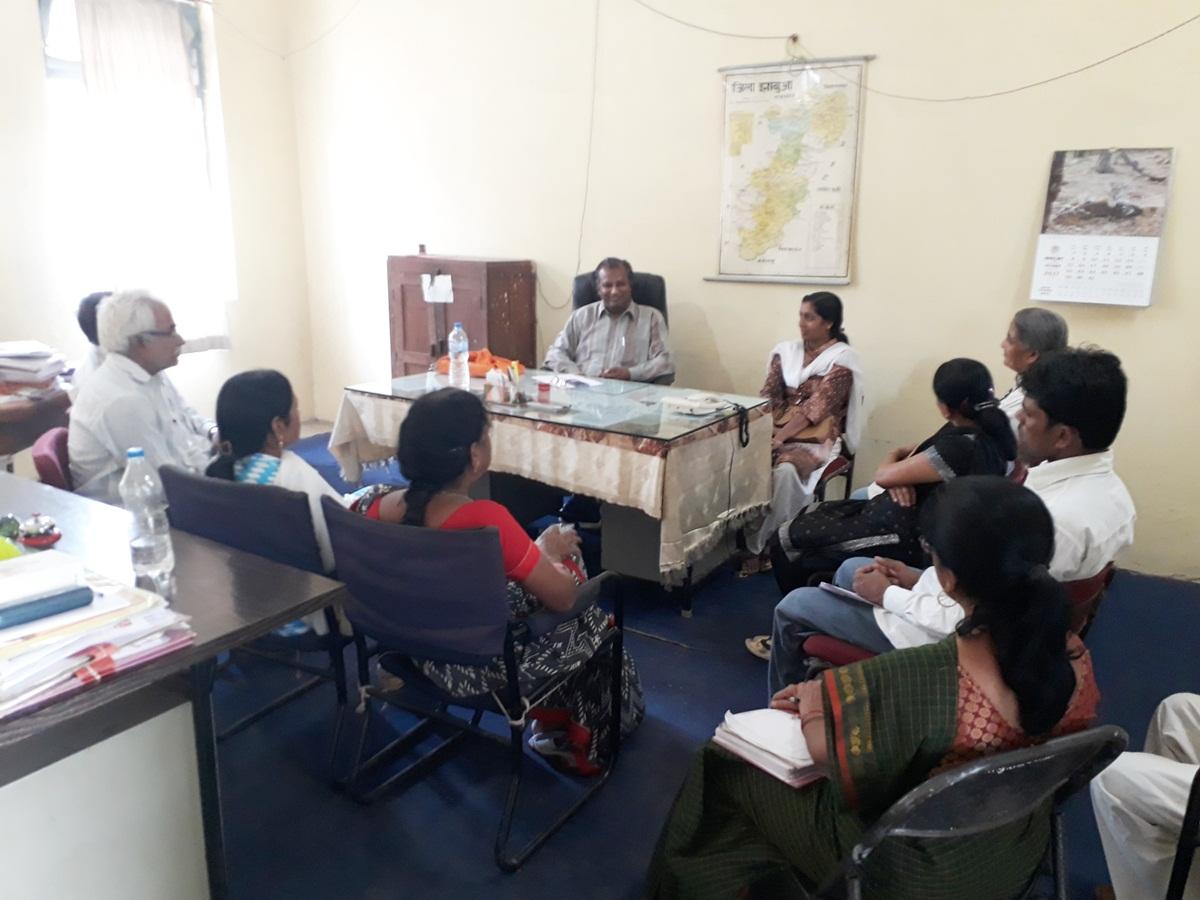 शासकीय सेवको के लिए अल्प विराम कार्यक्रम का हुआ आयोजन-Organizing-a-short-program-for-government-servants