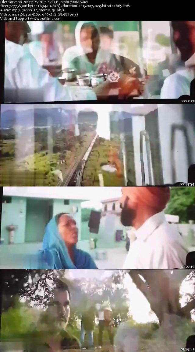 Sarvann 2017 pDVDRip Punjabi 700MB
