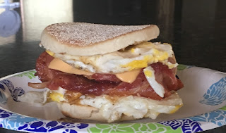 Delicious Mcfurey fried egg sandwich recipe