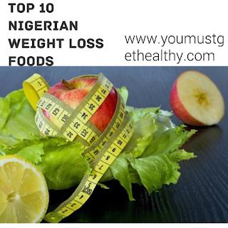 Nigerian weight loss diet