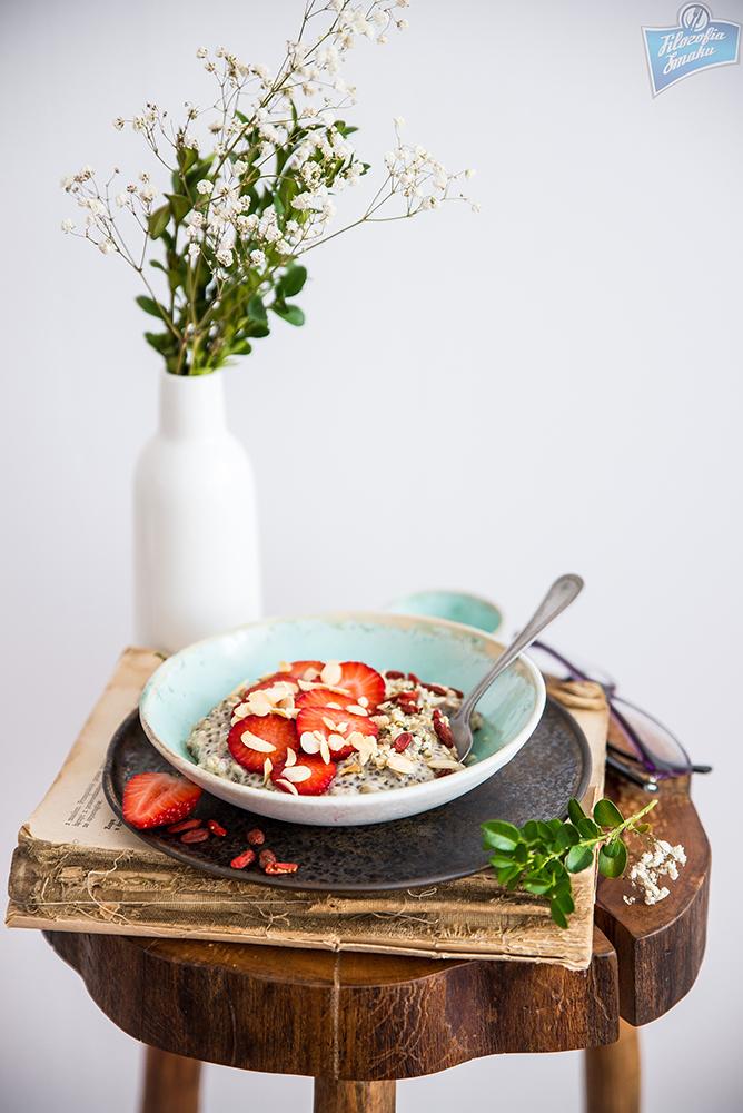 Owsianka z nasionami chia